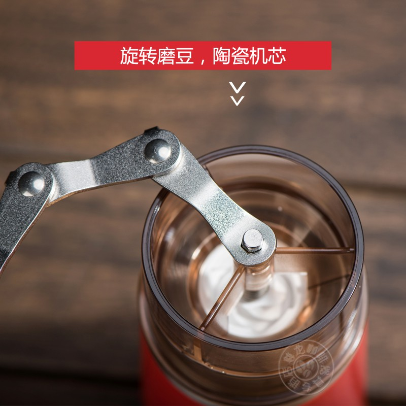 ◘ถ้วยกาแฟบดด้วยมือ หม้อกาแฟทำมือ เครื่องชงกาแฟ เครื่องบดกาแฟแบบพกพา ชุดหม้อเดียวทำมือ
