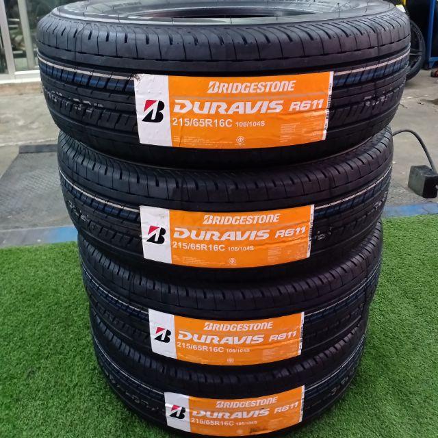 ยางใหม่ปี19 Bridgestone Duravis R611 215/65R16