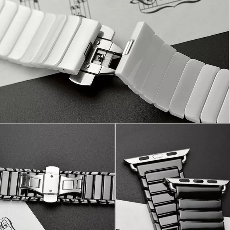 📣💖👍▪❀สาย Stainless Steel สำหรับAppleWatch มีให้เลือก 6 สี ใส่ได้ทั้ง series SE/6/5/4/3/2/1 ขนาด 38/40 & 42/44mm
