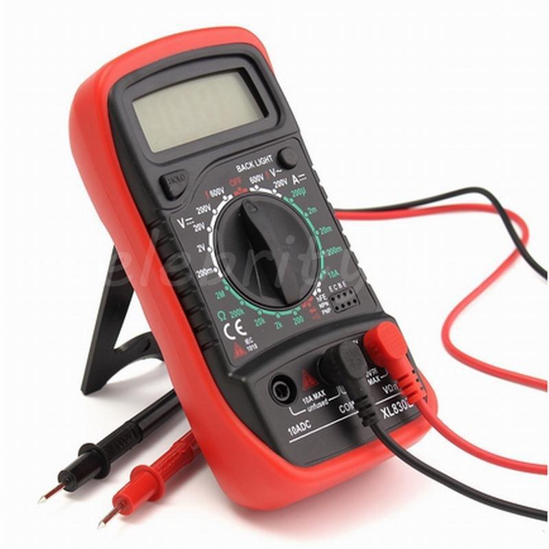Great Universal Digital Multimeter Multi Meter Test Lead Probe Wire Pen Cabl gE