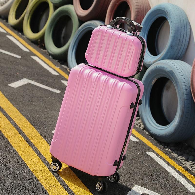 กระเป๋าเดินทางขนาดใหญ่ 24 นิ้ว 24 นิ้วสําหรับผู้หญิงนักเรียน