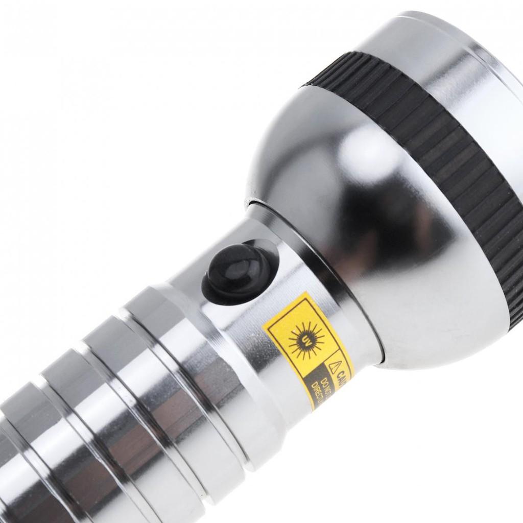 395nm Aluminum Alloy 41 LED UV Multi-function Flashlight for Fluorescent Detect