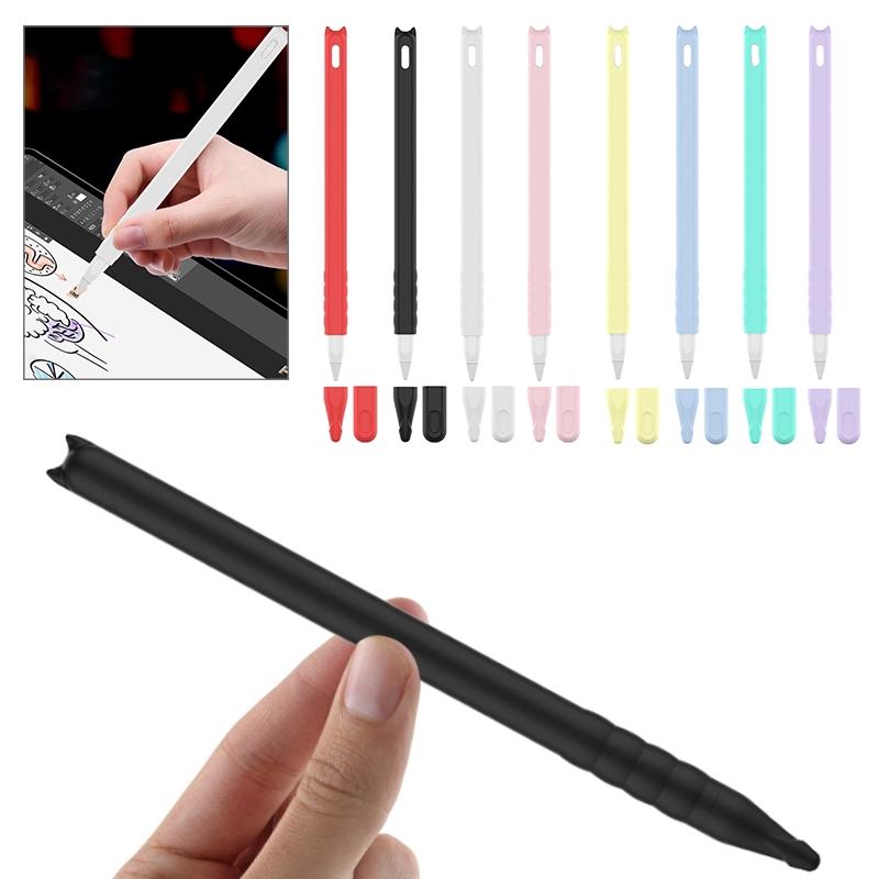 เคสซิลิโคนลายการ์ตูนสําหรับ Apple Pencil 2 Stylus