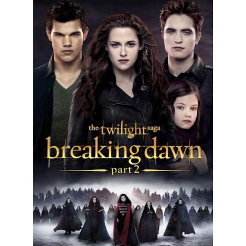 ดีวีดีหนัง - Vampire Twilight ครบ 5 ภาค