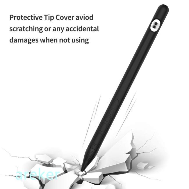 เคส ซิลิโคนนุ่ม ป้องกันรอย สําหรับ Apple Pencil 2