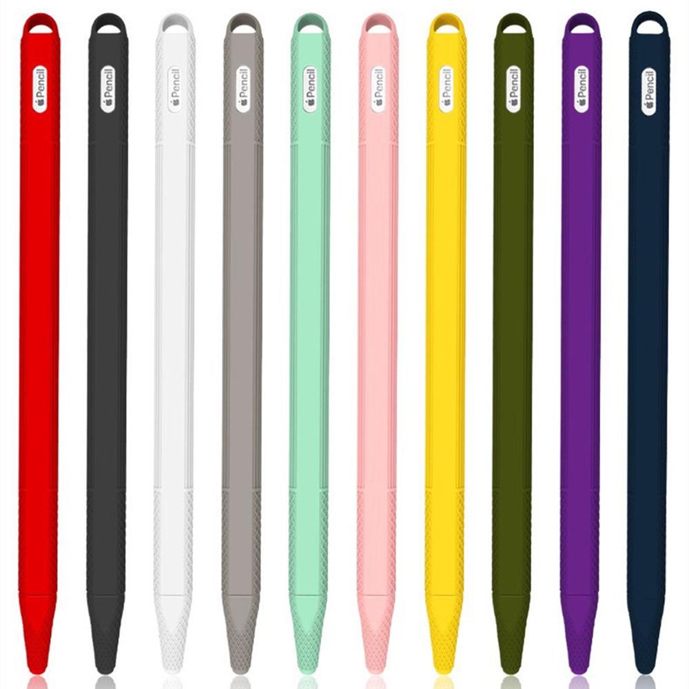 พร้อมส่ง🇹🇭เคสปากกาซิลิโคน Apple Pencil 2 (Gen2) ปลอกปากกาซิลิโคน เคสปากกา Silicone Apple Pencil Case 2