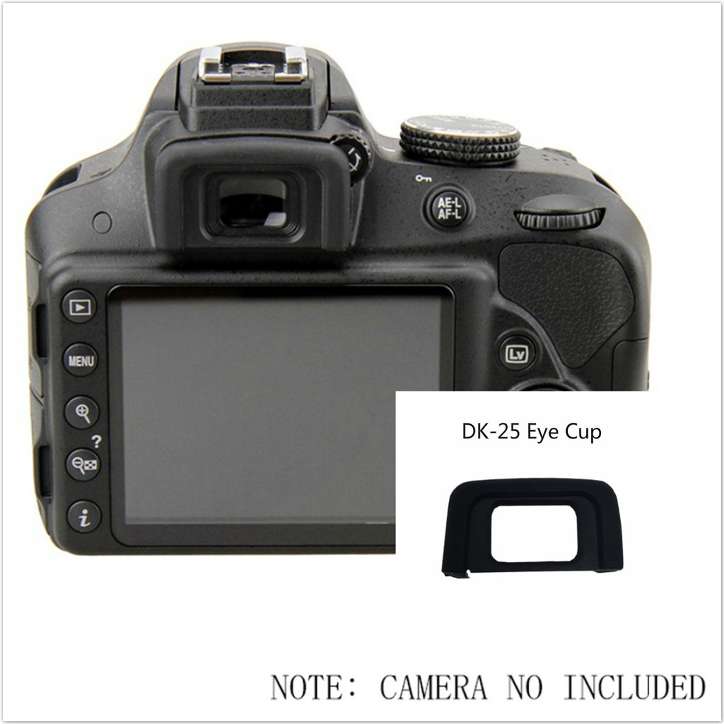 Viewfinder Rubber Eye Cap Eyepiece Eyecup for NIKON D5300 High Quality DK-25