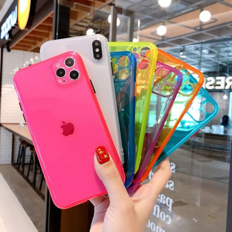 เคสโทรศัพท์มือถือ Tpu สองสีสําหรับ Iphone 11 Pro Xs Max