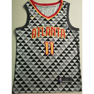 online store ce97b cbe3d COD really stock Trae Young #11 Atlanta Hawks NBA Jersey ...