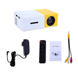 YG300 โปรเจคเตอร์ Newest Mini LED Projector Home Theater Beamer