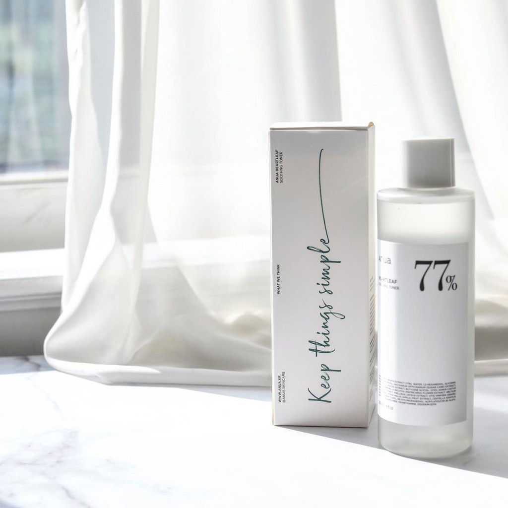 ♝ANUA : HEARTLEAF 77% SOOTHING TONER 250 ml