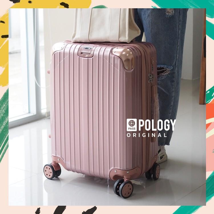 กระเป๋าเดินทาง 20 นิ้ว กระเป๋าเดินทาง MiNERVA กระเป๋าเดินทางล้อลาก  TIMELESS LIGHT 18/20/24/28/32 นิ้ว วัสดุ PC 100% แข็