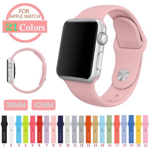สายนาฬิกาข้อมือ สำหรับ Apple Watch Series SE2020 6 5 4 3 2 1 ขนาด 38 40 42 44 มม.