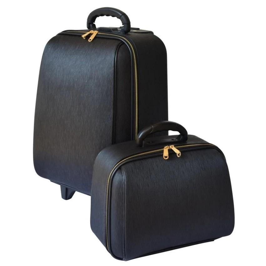 กระเป๋าเดินทาง กระเป๋าเดินทางล้อลาก BB-Shop เซ็ทคู่ 18/14 นิ้ว L-Louise Classic (Black) สิน กระเป๋าล้อลาก กระเป๋าเดินทาง