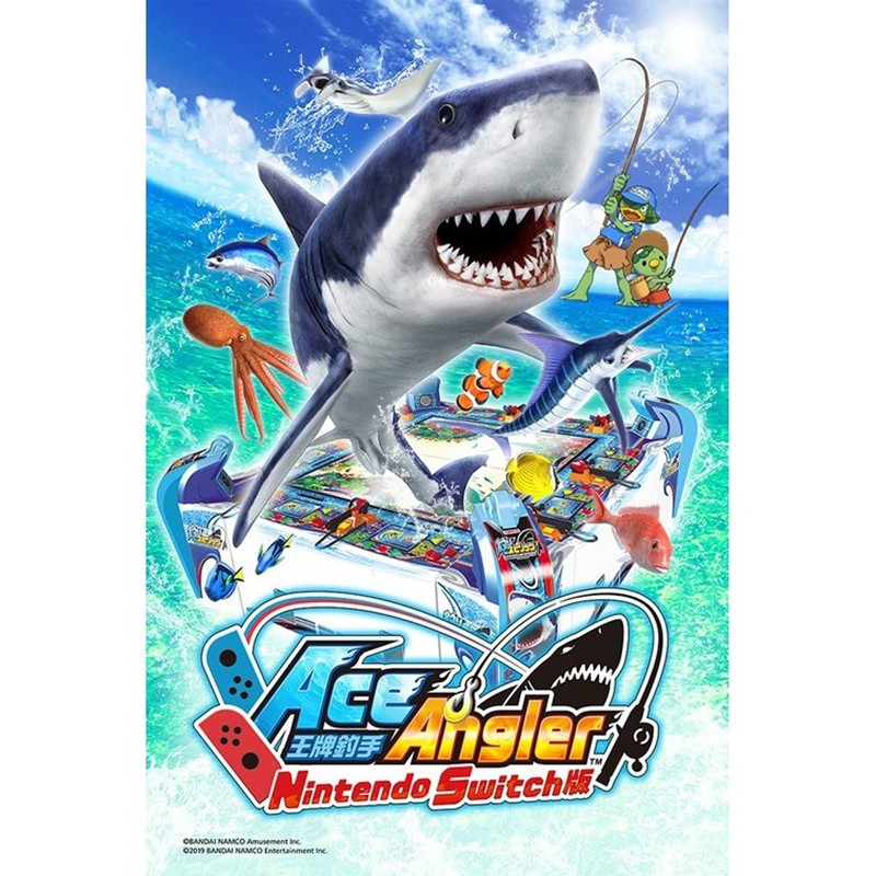 Nintendo Switch Ace Angler US Eng แท้