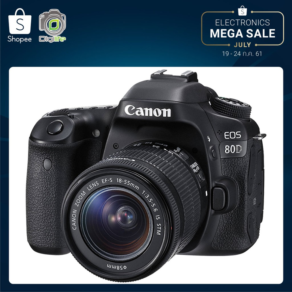 Canon 750d Kit 18 55 Is Stm Shopee Thailand Eos M3 Ii Ef M18 Ampamp M55 200