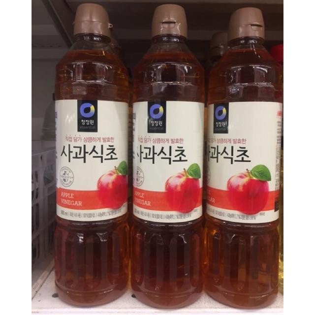 น้ำส้มสายชูหมักจากแอปเปิ้ล 900 มล. ซองจอวอน Apple Cider Vinegar