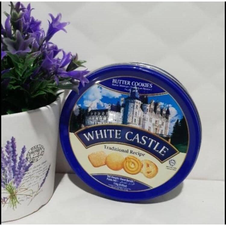 คุกกี้เนย White castle butter cookies (แบบกล่อง)
