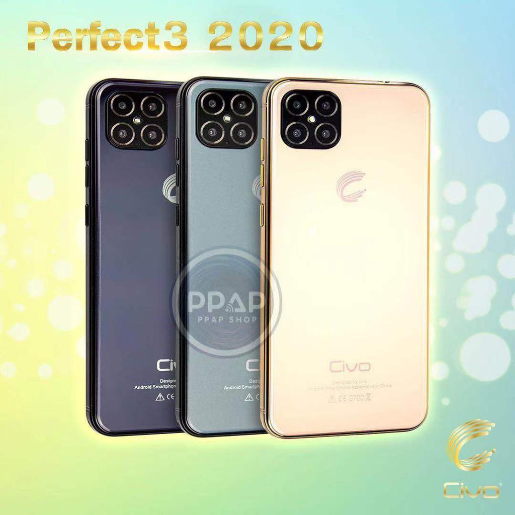 โทรศัพท์มือถือ  smartphones แบรนด์ไทย ศูนย์แท้ Civo รุ่น Perfect 3 2020 รับประกัน 1 ปี