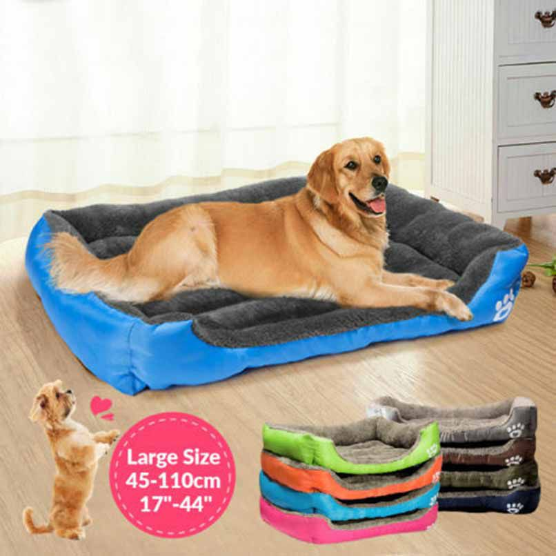 Pet Dog Bed Orthopedic Large Dog Beds Dog House Nest Kennel For Cat Puppy Xxxl P2ug Shopee Thailand