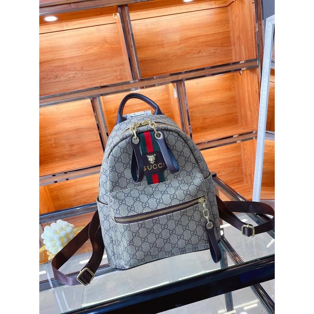 [กระเป๋าเยอะมาก] GUCCI Gucci Ophidia กระเป๋าเป้แฟชั่นกระเป๋าเป้ผู้ชายและผู้หญิงกระเป๋าเป้สะพายหลังเดินทางปีนเขากระเป๋าเป