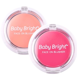 Review Baby Bright Face On Blusher 5g.