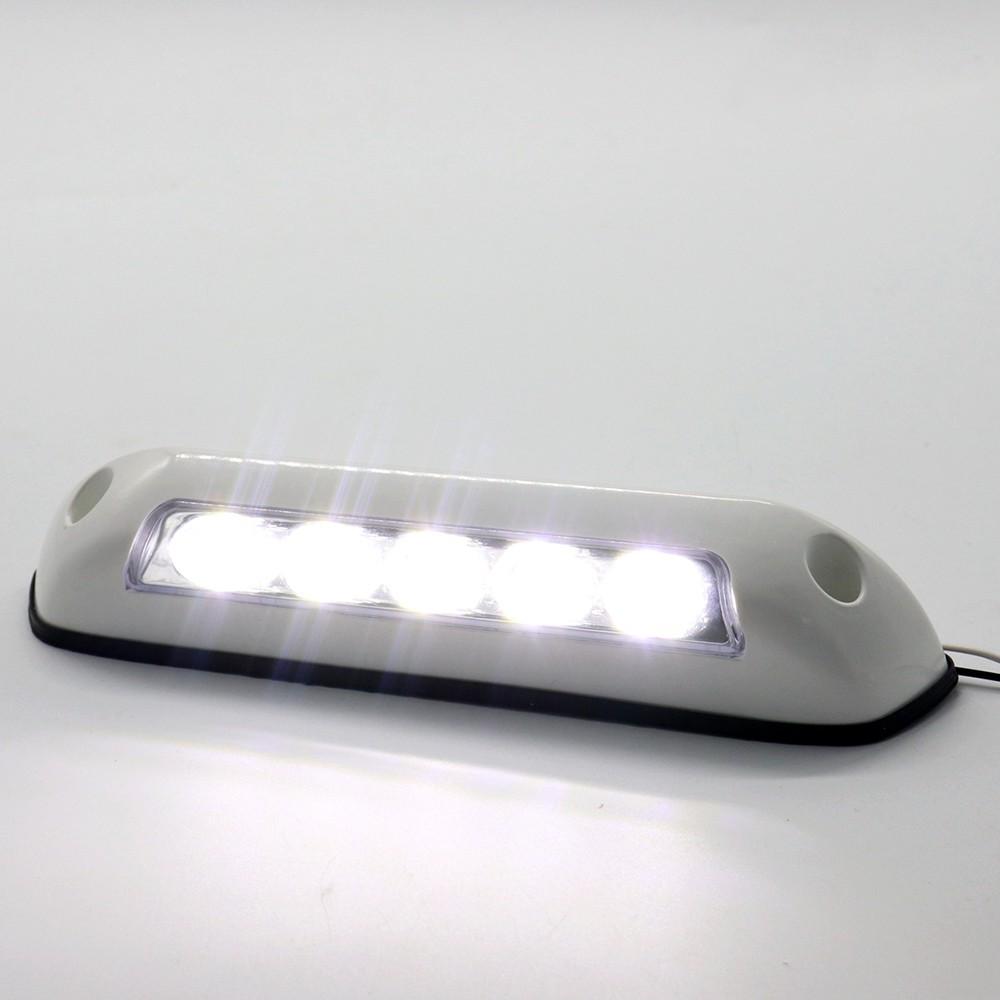 KKmoon 12V RV LED Awning Porch Light Waterproof Motorhome Caravan Interior Wall Lamps Light Bar RV Van Camper