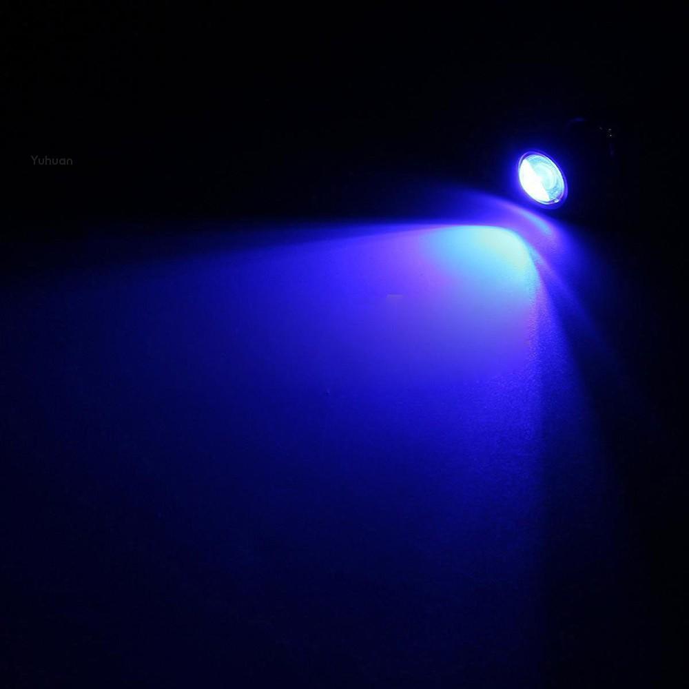 "2x 10W Boat Drain LED Light Plug Blue Lamp 1//2/"" NPT For Marine Underwater  Fish"