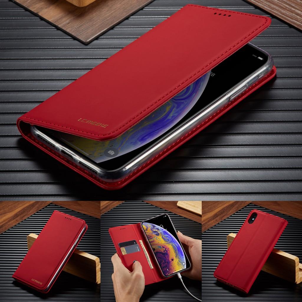 เคสหนังแม่เหล็กสําหรับ apple iphone x/xs xr xsmax