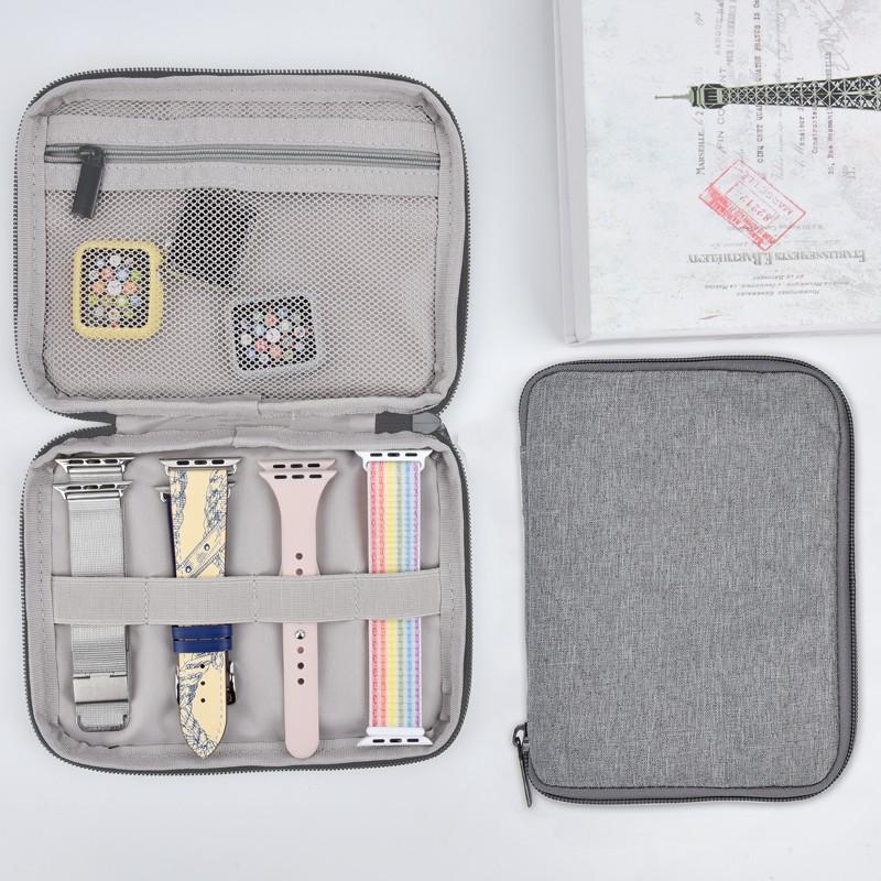 applewatch6 เข็มขัด☞เหมาะสำหรับสายรัดข้อมือ Apple iwatch6 กระเป๋าเก็บมัลติฟังก์ชั่น applewatch5 / SE 4 3rd generation ส