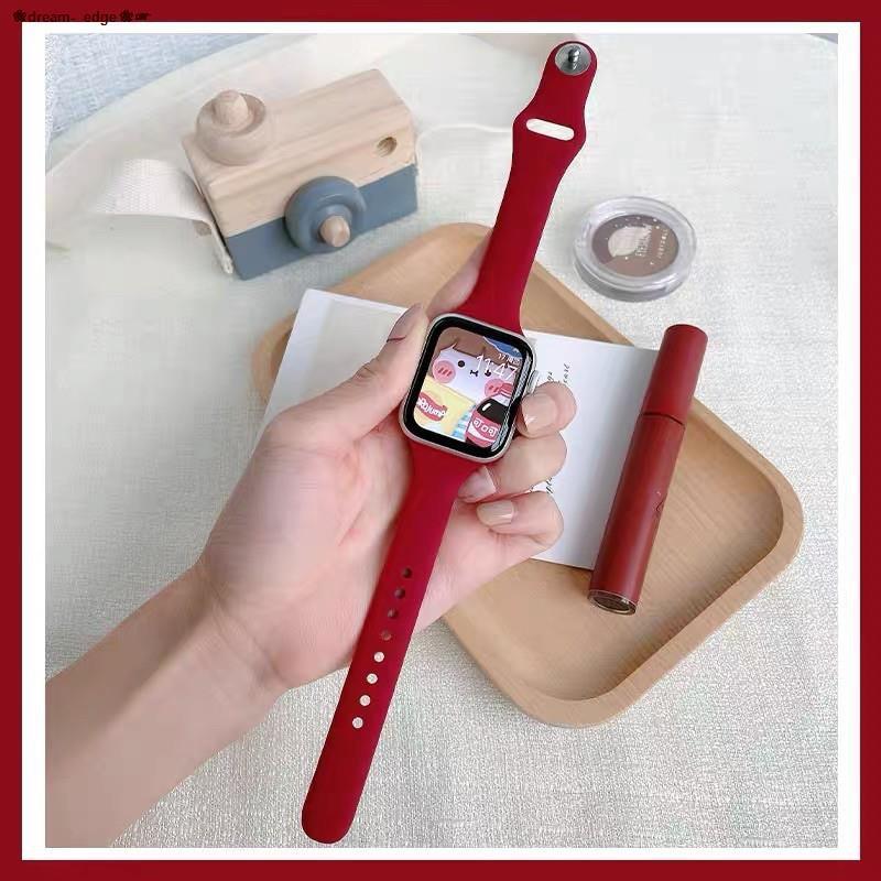 ❀dream- edge❀♗*READY STOCK* พร้อมส่ง‼️สาย สำหรับ Apple Watch สีมาใหม่ series 6 5 4 3 2 1 สำหรับapplewatch ขนาด  42mm 44m