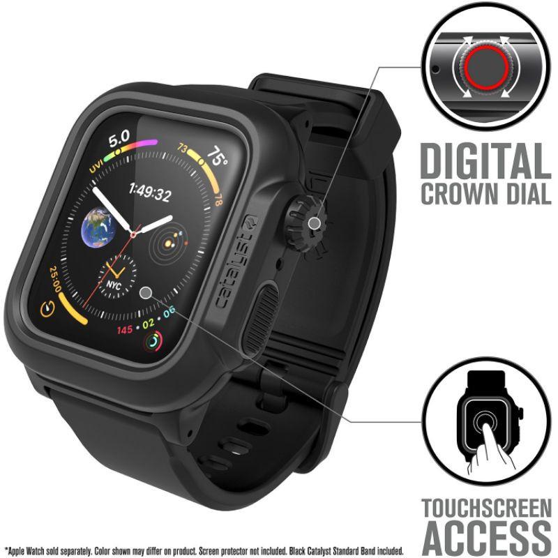 [Apple Watch 6 / SE] เคส Catalyst Waterproof Case : Apple Watch Series 6 / 5 / 4 / SE   ขนาด 44mm.