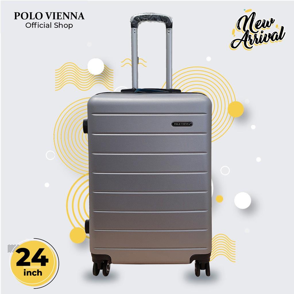 กระเป๋าเดินทางเส้นใยโปโล 001 24 นิ้ว Abs