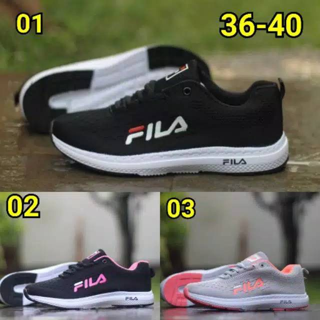 Fila รองเท้าวิ่ง Fila ขนาด 36-40 สําหรับผู้หญิง