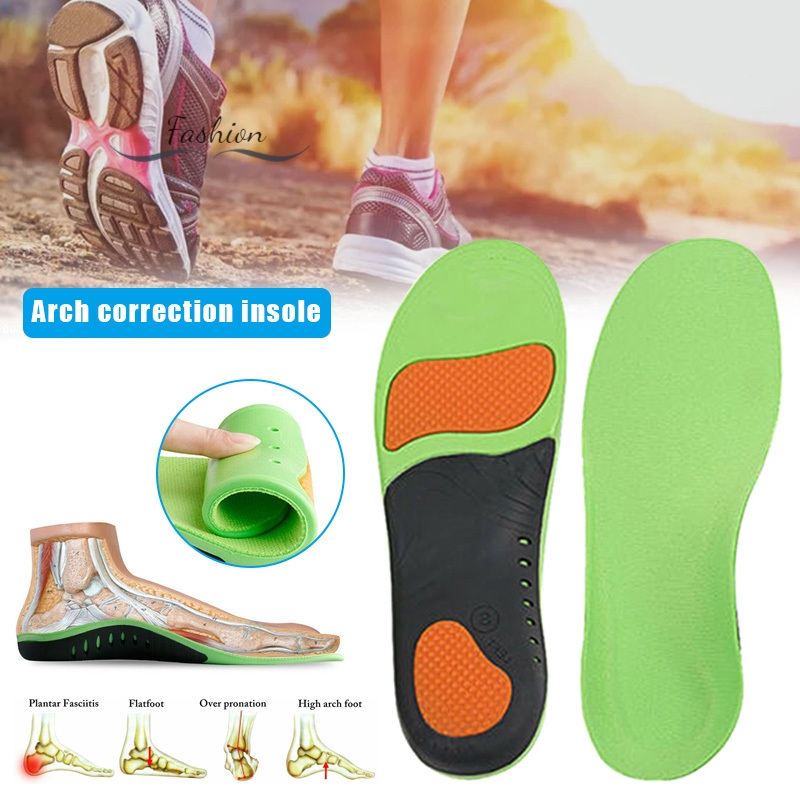 Shoe Insoles for Plantar Fasciitis Insoles High Arch Orthotic Inserts for Flat Feet Feet Pain Comfort Arch Support Insoles