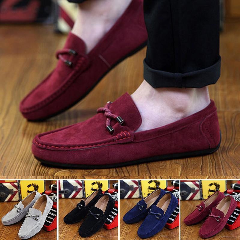รองเท้าโลฟเฟอร์รองเท้าลำลองแฟชั่นสำหรับผู้ชาย