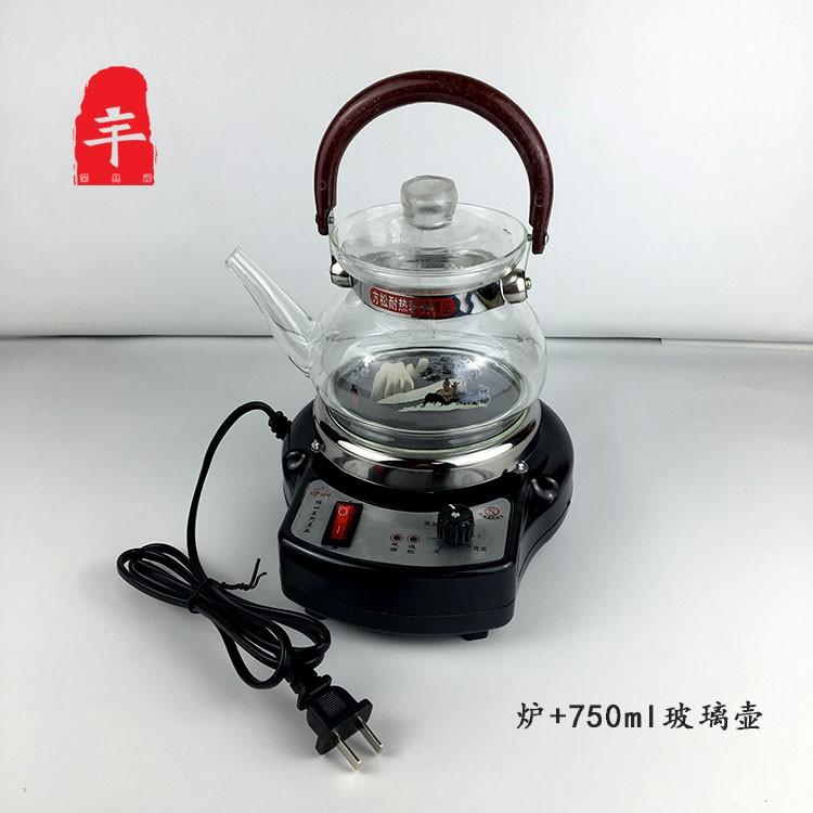 เตาไฟฟ้าแบบควบคุมอุณหภูมิแบบเก่าเตาชาไฟฟ้าในครัวเรือนฉนวนปรับได้เตาไฟฟ้าขนาดเล็กหม้อ Moka เครื่องชงกาแฟบีกเกอร์เครื่องทำ