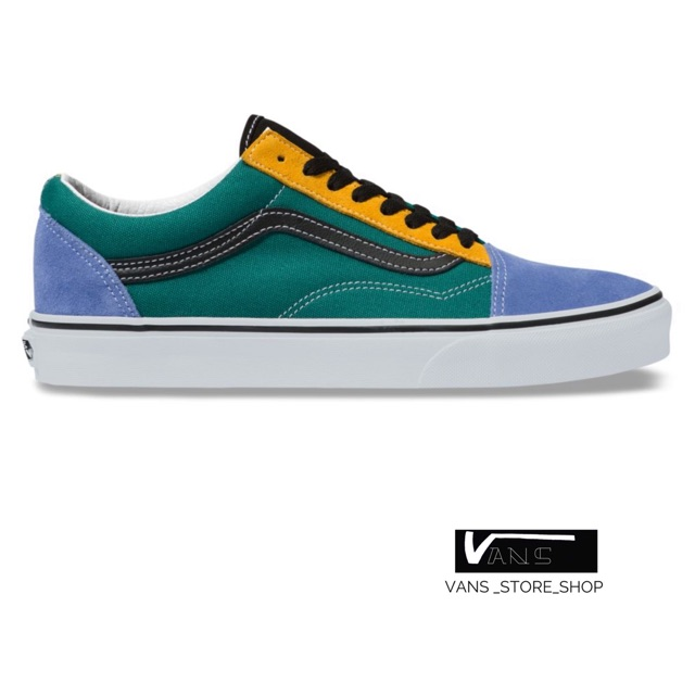 VANS Mix & Match Era Cadmium Yellow & Tidepool Shoes MULTI