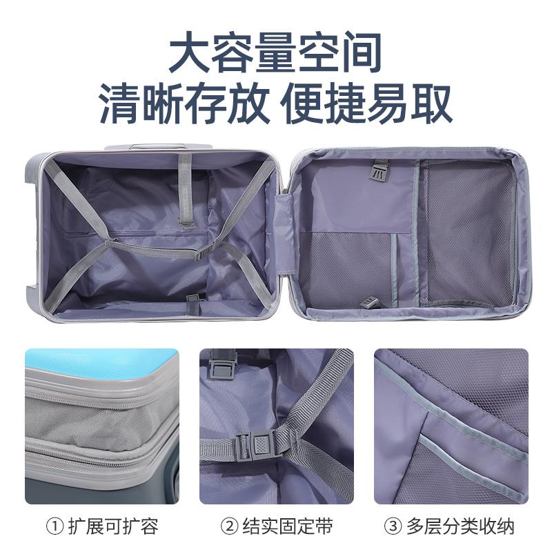 ❣モ กระเป๋าเดินทางล้อลาก กระเป๋าเดินทางล้อลากใบเล็กเด็กGe Lingสามารถติดตั้งกระเป๋าเด็กทารกเด็กชายและเด็กหญิงกระเป๋าเดินทา