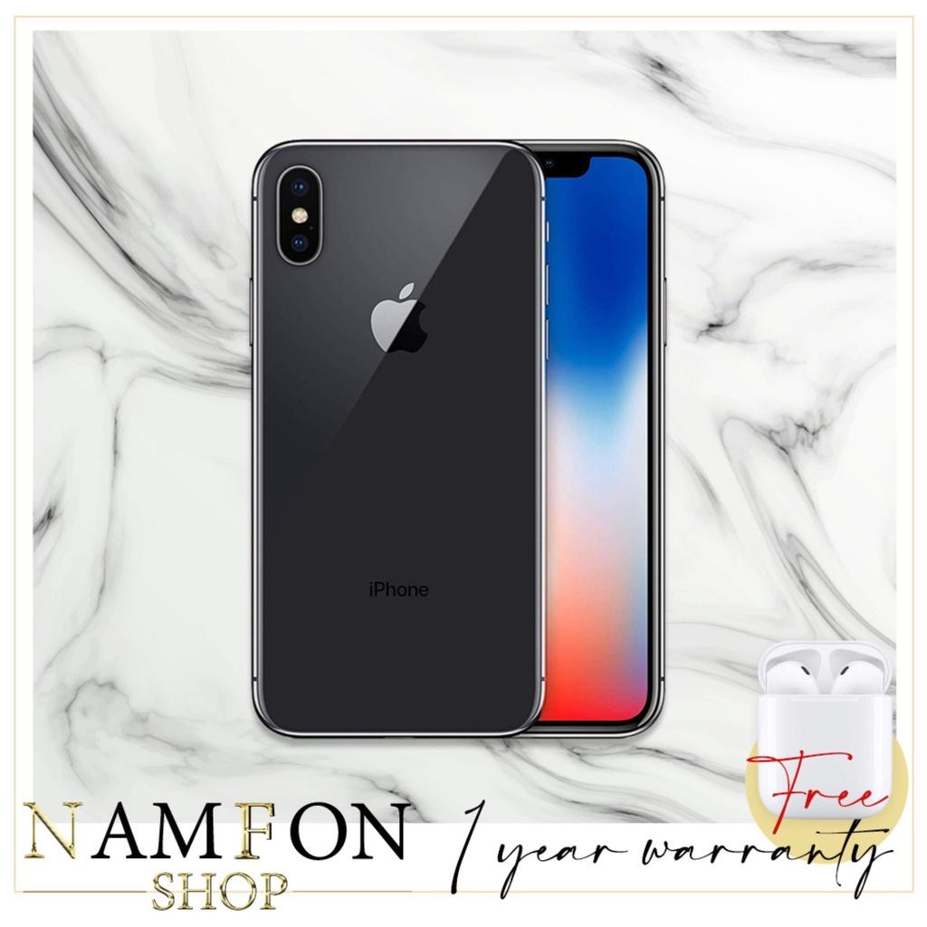 Apple iPhone X 64GB แถมหูฟังบลูทูธ i11 เครื่อง Model TH/A [ประกันร้าน 1 ปี]