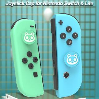 【gofo】Thumb Grip Caps Cute Joystick Cap with Cat Claw Design Soft Silicone Cover for Nintendo Switch for Lite Controller