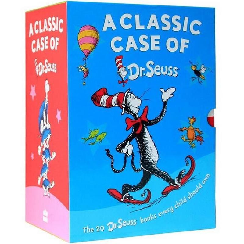 20books A Classic Case Of Dr. Seuss สมุดภาพภาษาอังกฤษสําหรับเด็ก