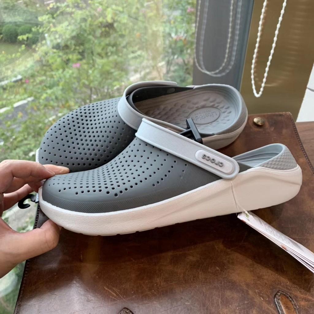 จำเป็นสำหรับฮิปสเตอร์! !! !! รองเท้าแตะของแท้ Crocs