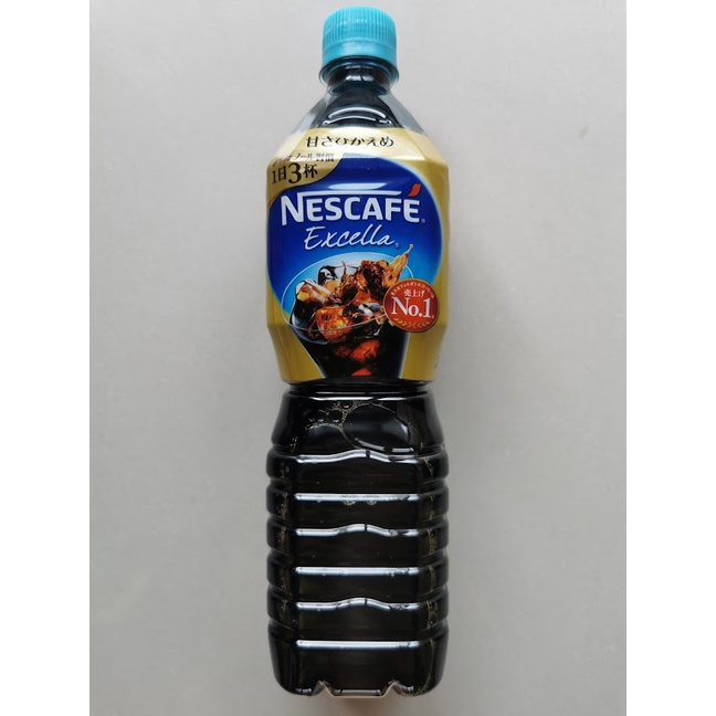 Nescafe Excella Sugar-free Black Coffee Bottle 900ml
