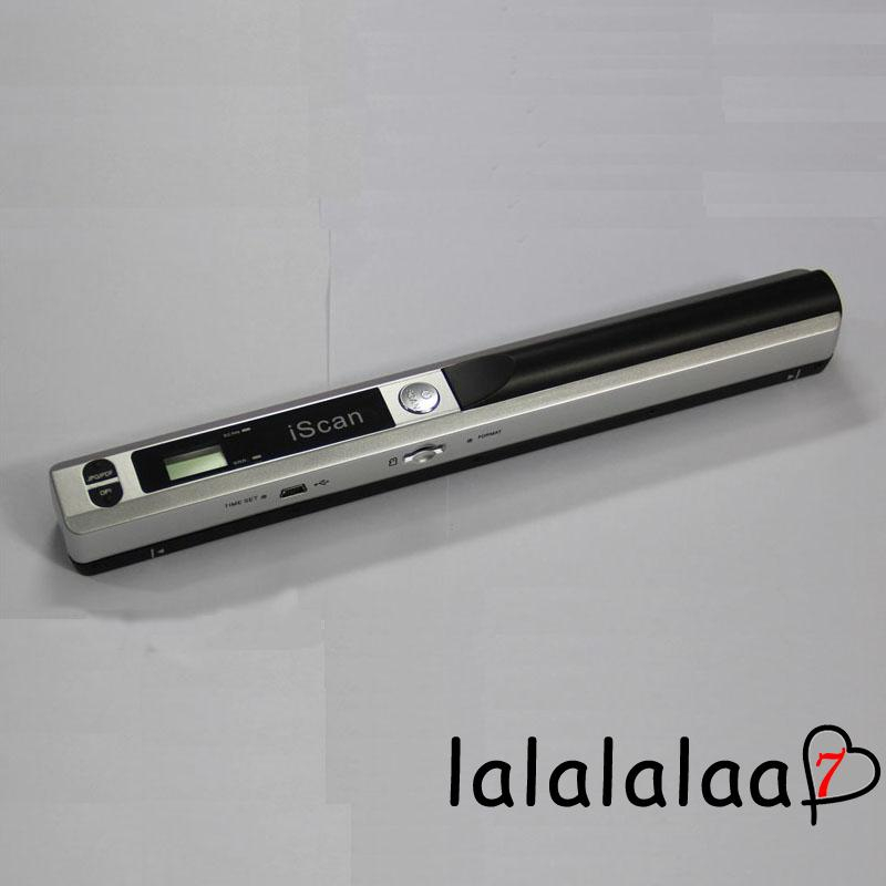 LLS-Portable iScan Office Handheld Scanner Photo Documents Scanner Book A4 Book OFcF