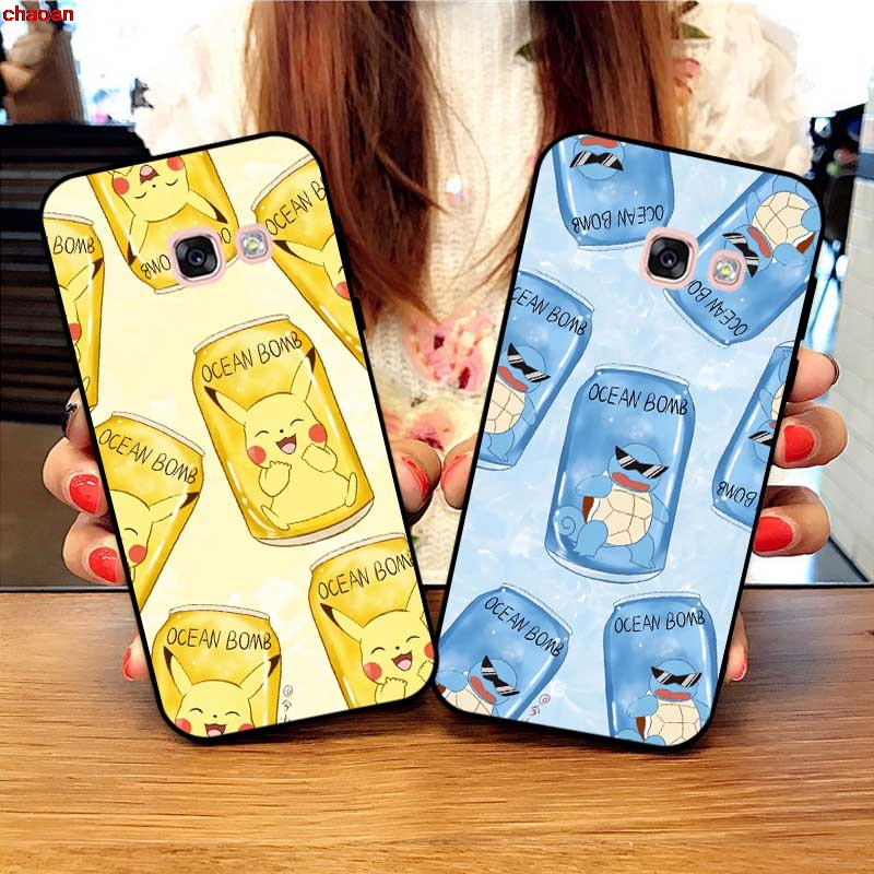 Samsung A3 A5 A6 A7 A8 A9 Pro Star Plus 2015 2016 2017 2018 HYHYXL Pattern-4 Silicon Case Cover