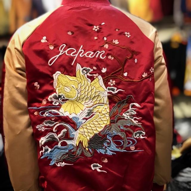 Sukajan jacket แจ็คเก็ตสไตล์ญี่ปุ่น