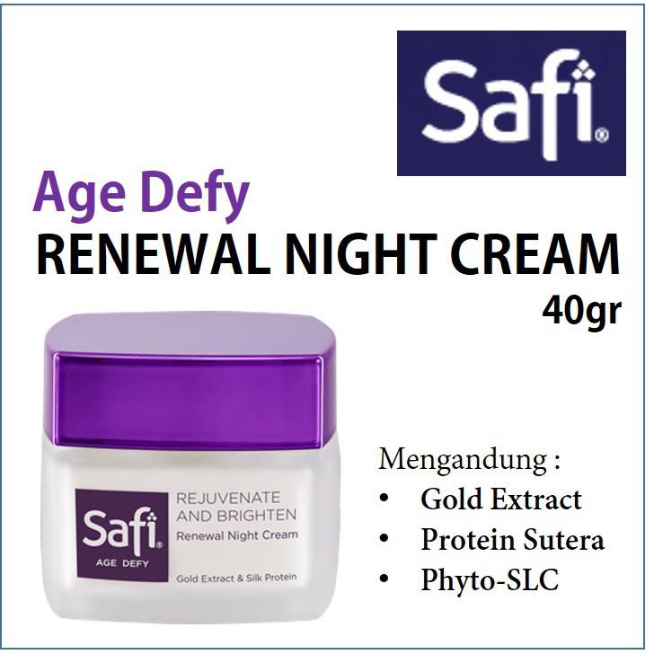 Safi Age Devy ครีมฟื้นฟูผิวหน้า 40gr