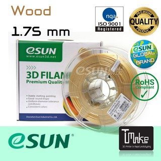 eSun Filament Wood Size 1.75mm for 3D Printer
