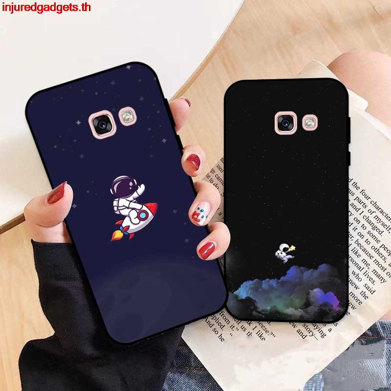 INDT- For Samsung A3 A5 A6 A7 A8 A9 Pro Star Plus 2015 2016 2017 2018 HTKRA Pattern-3 Silicon Case Cover